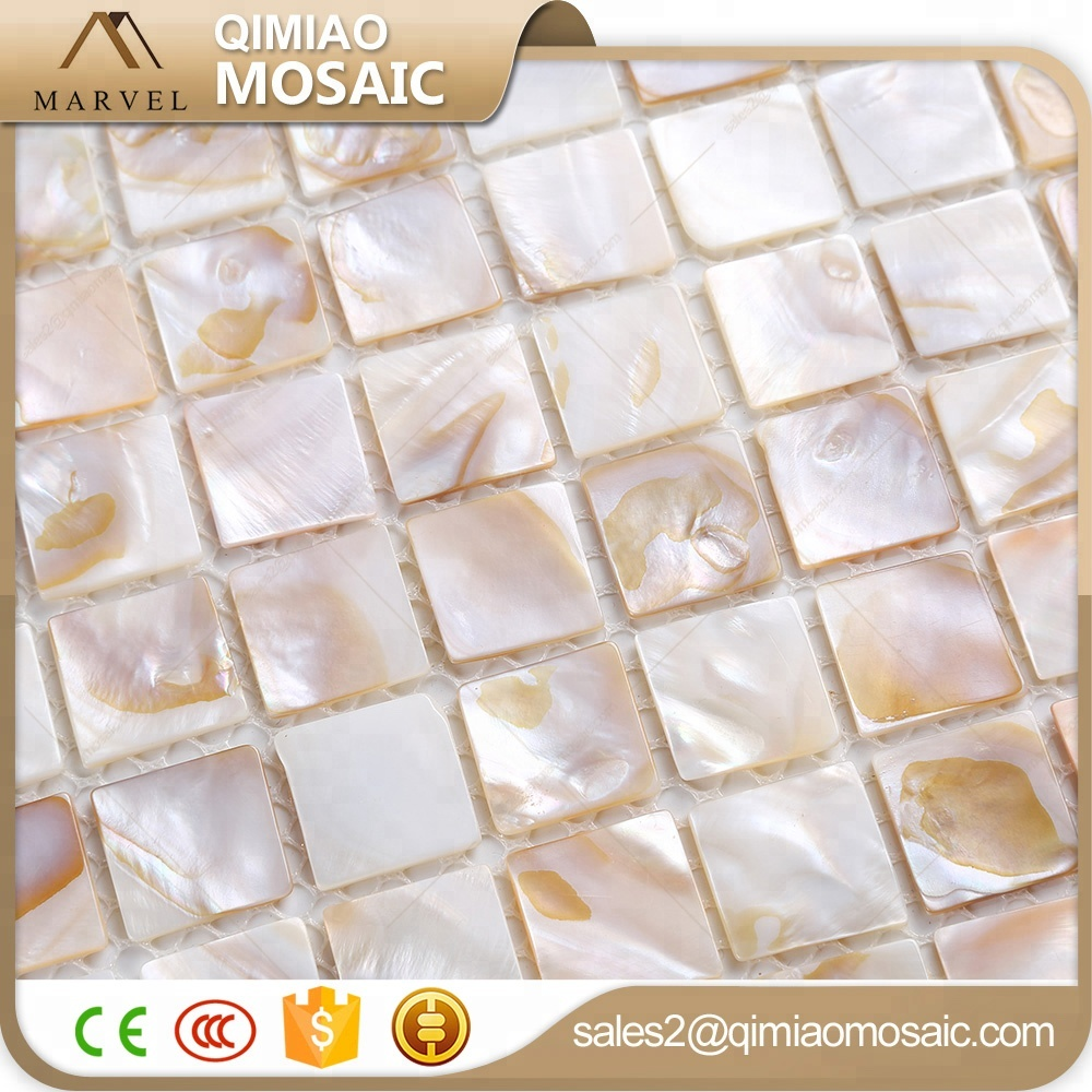 Square Wall Tile Natural Oyster Mother Of Pearl Shell Mosaic Buy Shell Mosaic Mother Of Pearl Shell Mosaic Tile Seashell Backsplash Mosaic Tiles Product On Alibaba Com