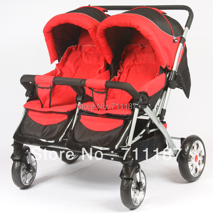 High Quality Twin Strollers For Children Cute Baby