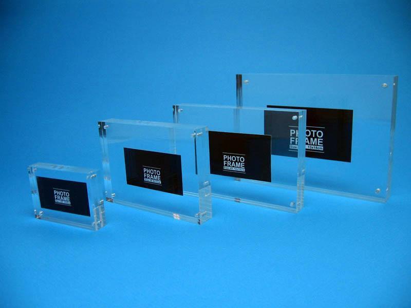 high quality acrylic photofunia photo frame/love funia frame