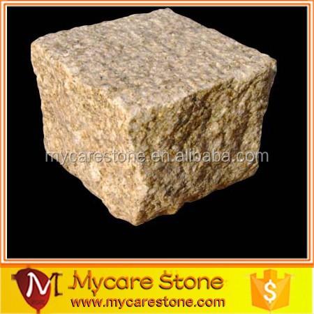 Каменная подстилка для мощения, мощение из гранита
