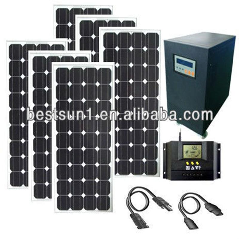 Go panneau solaire: Diy 1000w solar panel