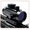 Free shipping Tactical Hunting Holographic 1 x 40mm Airsoft Red Green Dot Sight Scope 11 20mm