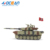 1/64 military battle army toy china mini rc tank with sound light