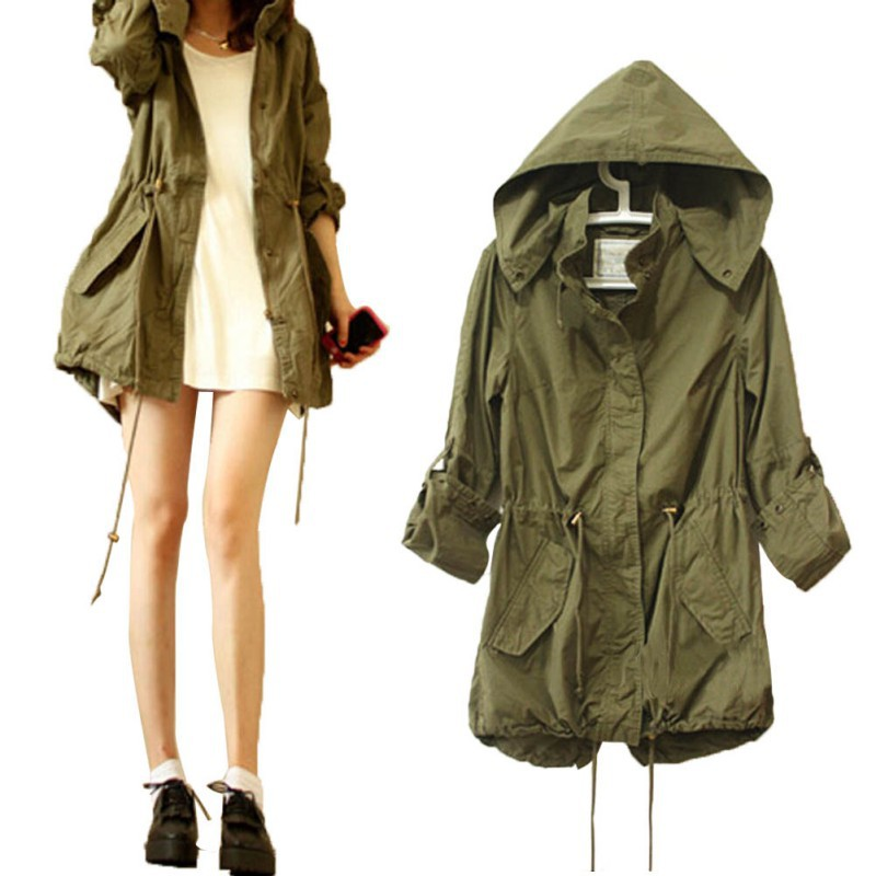 2c54c5a99ff Detail Feedback Questions about Women Winter Army Green Military ...