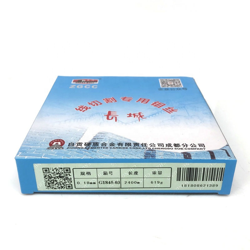 Great Wall 0.18mm EDM Molybdenum Wire 2400m per Spool for WEDM Wire Cutting Machine
