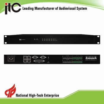 TS-P880D 8 Input 8 Output DANTE Network audio Digital Sound Processor with POE power supply and DSP