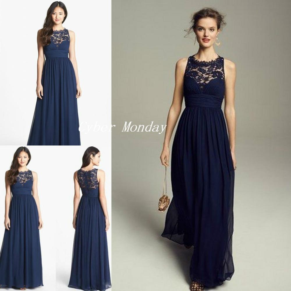 livraison gratuite bleu marine fonc robes de demoiselles d 39 honneur 2015 cheap longue en. Black Bedroom Furniture Sets. Home Design Ideas