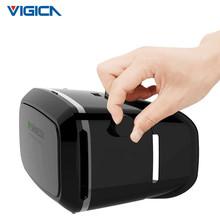 VR Shinecon Plastic VR 3D Glasses google cardboard HD Glasses for 3.5-6.0 inch Phone+Bluetooth Wireless Mouse gamepad VR BOX 3.0