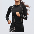 Brand 2XU women compression fitness jersey girl Trainning T shirts Running jogging quick dry breathable outdoor