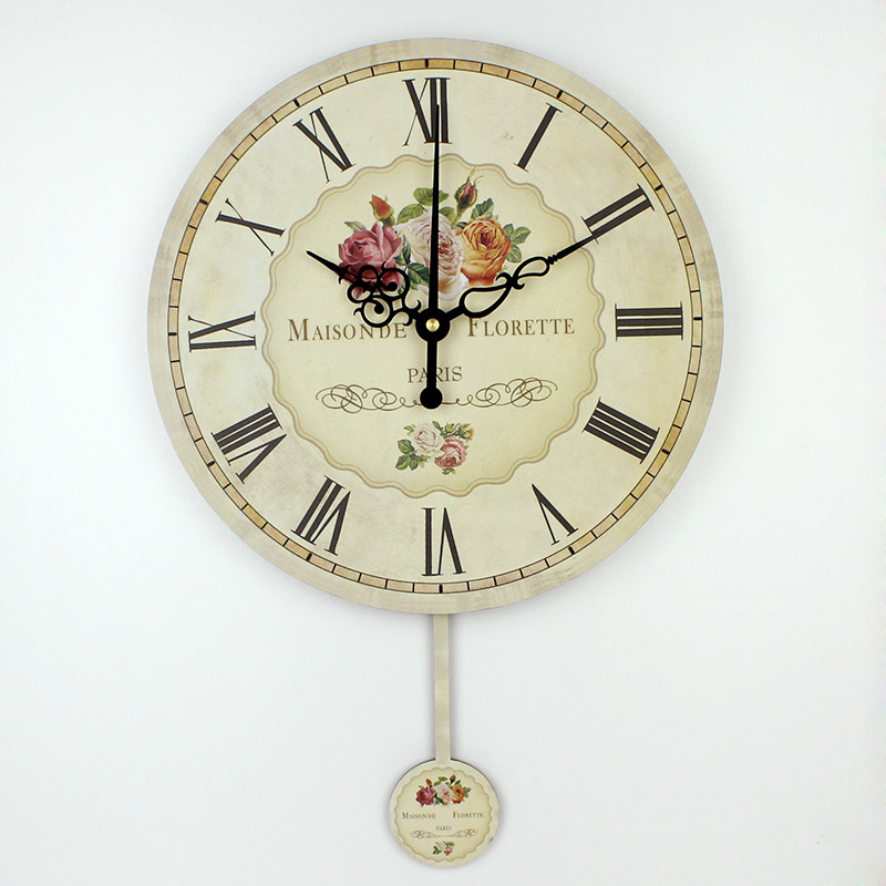 Roman Numeral Large Decorative Wall Clocks Absolutely