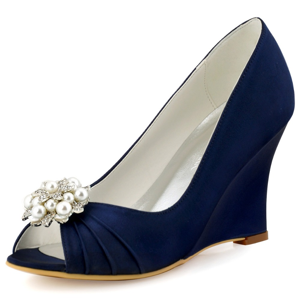 High Quality White Wedding Wedges Promotion-Shop for High ...
