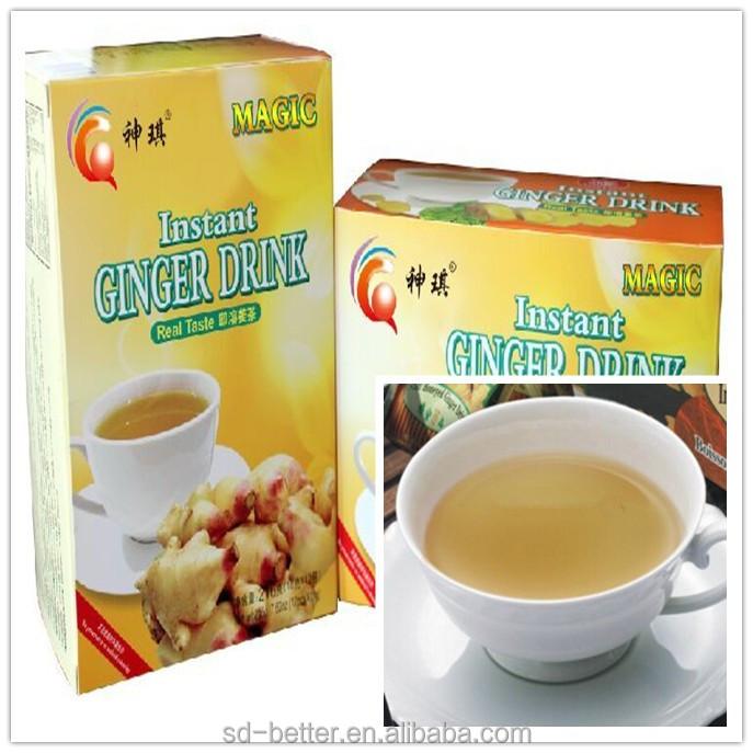 Твердые напитки/Имбирные чайные гранулы/OEM Поддерживаемые гранулы мгновенного чая