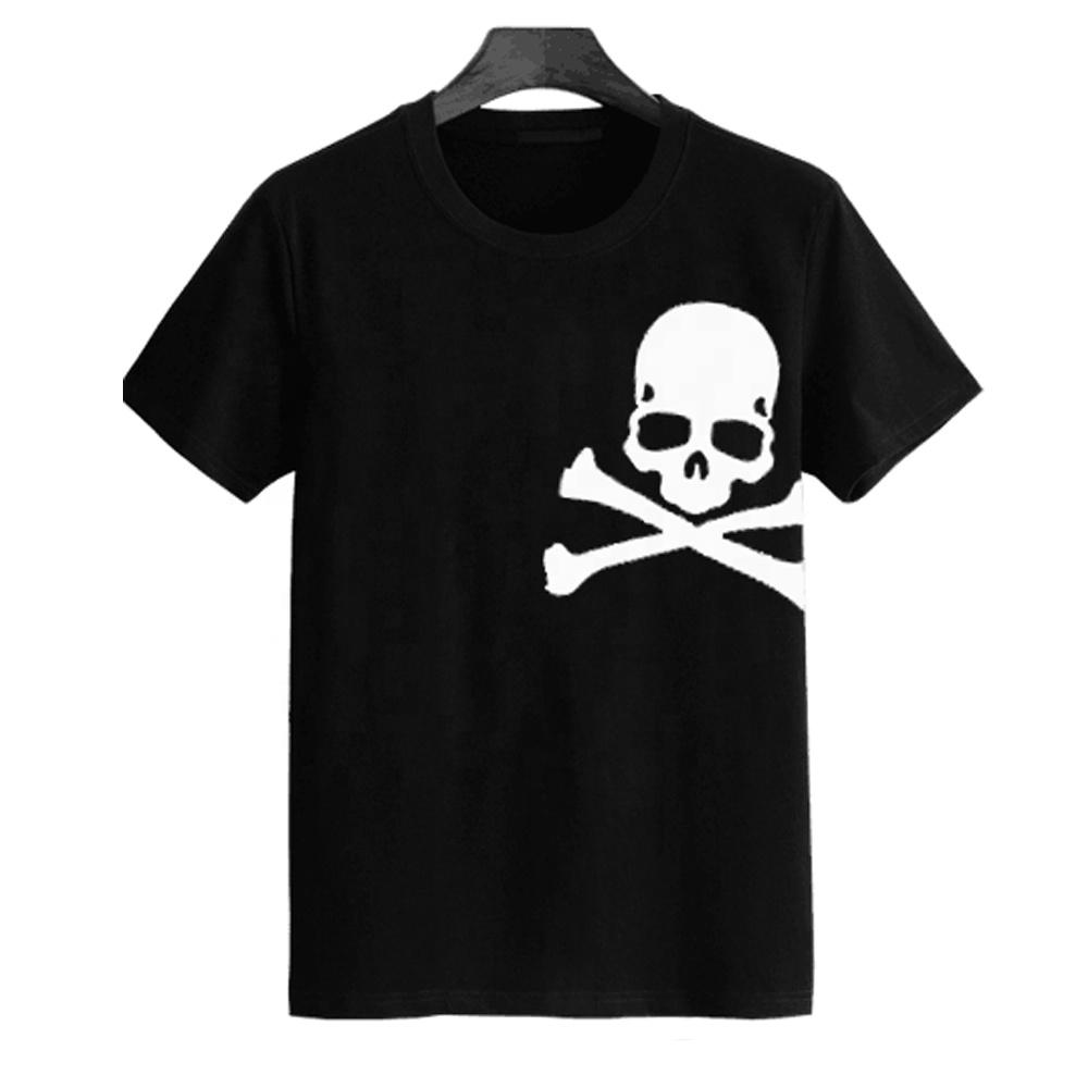 Высококачественная Мужская футболка из 100% хлопка, обычные летние футболки без рисунка, оптовая продажа футболок в Китае