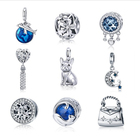 Silver Jewelry Silversilver Qings 925 Sterling Silver Charm Different Kinds Of Jewelry Accessories