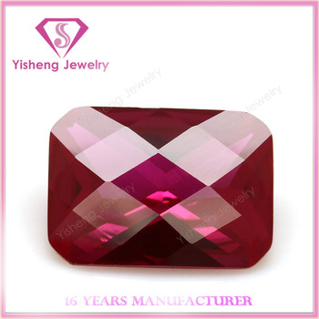 Octagonal Faceted Cut Ruby Gem Stone Price Rough Diamonds Buyers