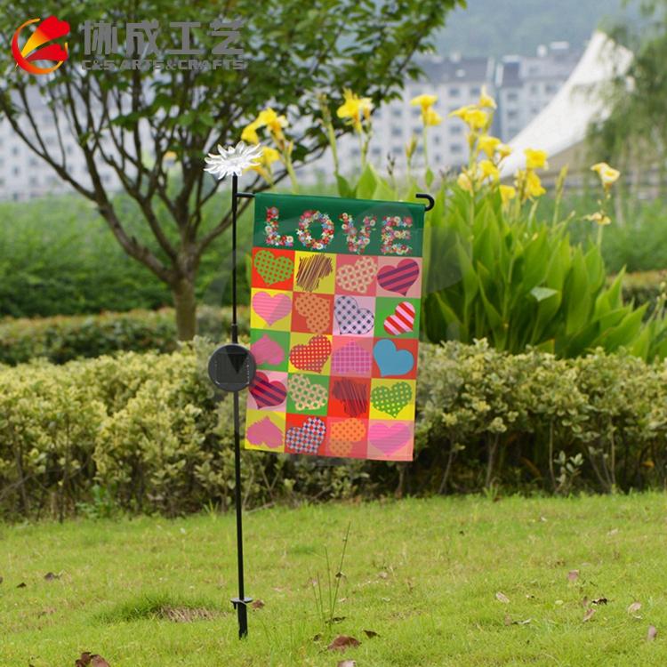 Хорошее качество высокое-цветные сад американский флаг