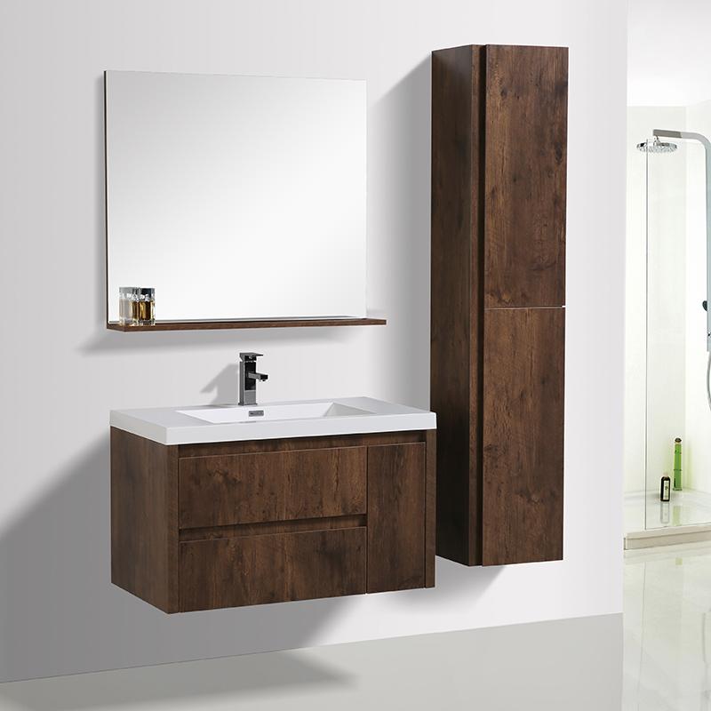 New Fashion Wall Mounted Single Sink 36 Bathroom Vanity Cabinet Buy Floating Bathroom Vanity Hotel Bathroom Vanity Single Sink Vanity Product On Alibaba Com
