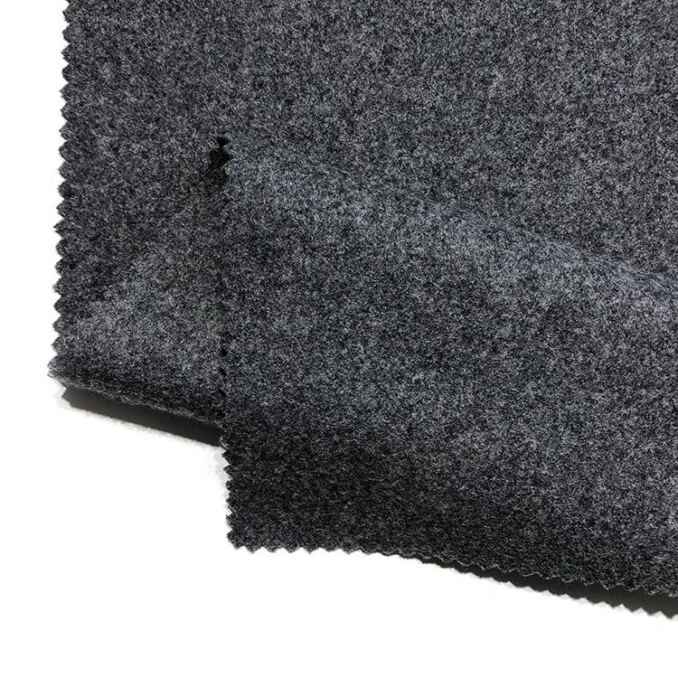 Разноцветная Обычная Мериносовая баратея, тканая шерстяная акриловая 60% мелтоновая шерстяная ткань для костюма