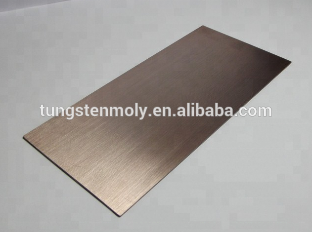 Молибденовая пластина, молибденовый стержень, молибденовый лист