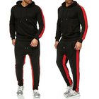 Casual Sport Sets Hoodie pants male GYM Plain Men custom logo polyester Jogger Tracksuits men