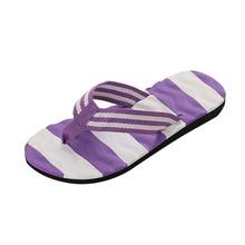 Mnycxen/женские шлепанцы; Летние вьетнамки в полоску; сандалии; домашняя обувь для пляжного отдыха; шлепанцы для ванной; z80(Китай)