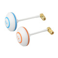 2pcs Set 5 8Ghz FPV High gain Clover Mushrooms RP SMA Antenna TX RX Set L