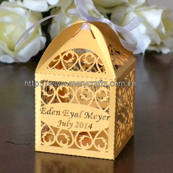 Thank You Gifts For Wedding Party: Elegant & Luxury Wedding Thank You Gifts Box For Guests