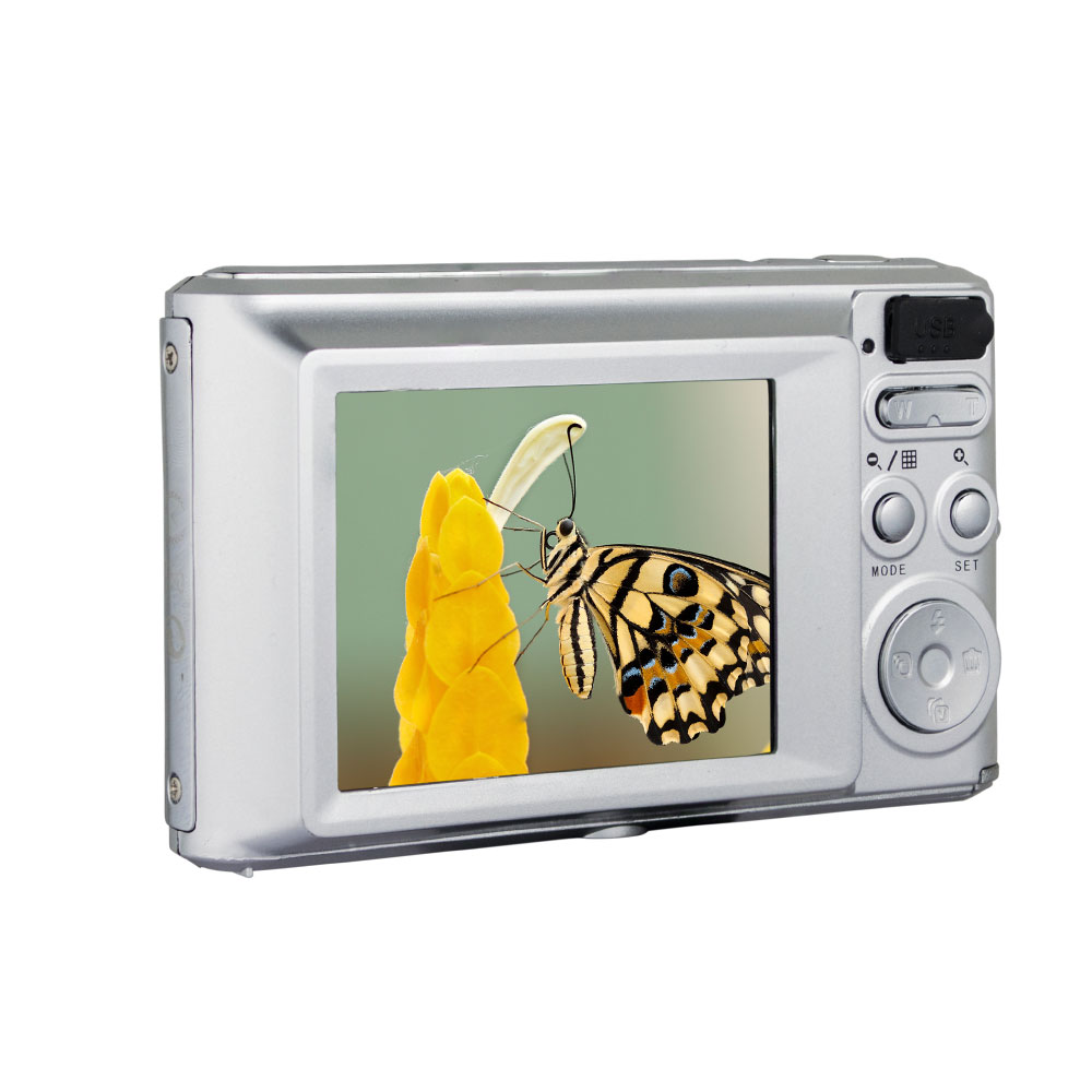 Cheap Digital Photo Camera OEM 2.4 Inch Professional Compact Camera With Smile Catch