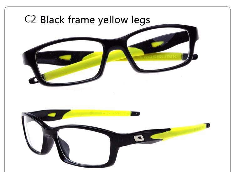 b0b4693057f2 New Fahion Silicone Sports Glasses Men Women Mirror Explosion-proof Classic  Glass Gamming Myopia Glasses Frame EyeglassesEyeglasses ...