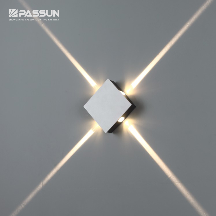 Factory Wholesale Indoor 4w Led Decorative Wall Light View Aluminium Home Decor Wall Lamp Passun Product Details From Zhongshan Passun Lighting Factory On Alibaba Com