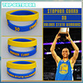2pcs set Silicone Wristband Bracelet Bangle Basketball Star Stephen Curry James Kobe Jordan Power Bands