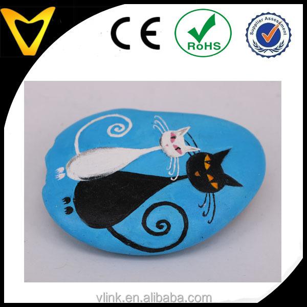 Vlink ювелирные изделия натуральный камень мультяшная живопись серия галька