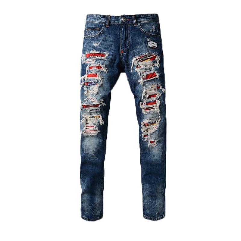 Los Hombres Pantalones Vaqueros De Nuevo Estilo Cielo Azul Pantalones Vaqueros Buy Vaqueros Rotos Vaqueros Para Hombre 2018 Vaqueros Rojos Product On Alibaba Com