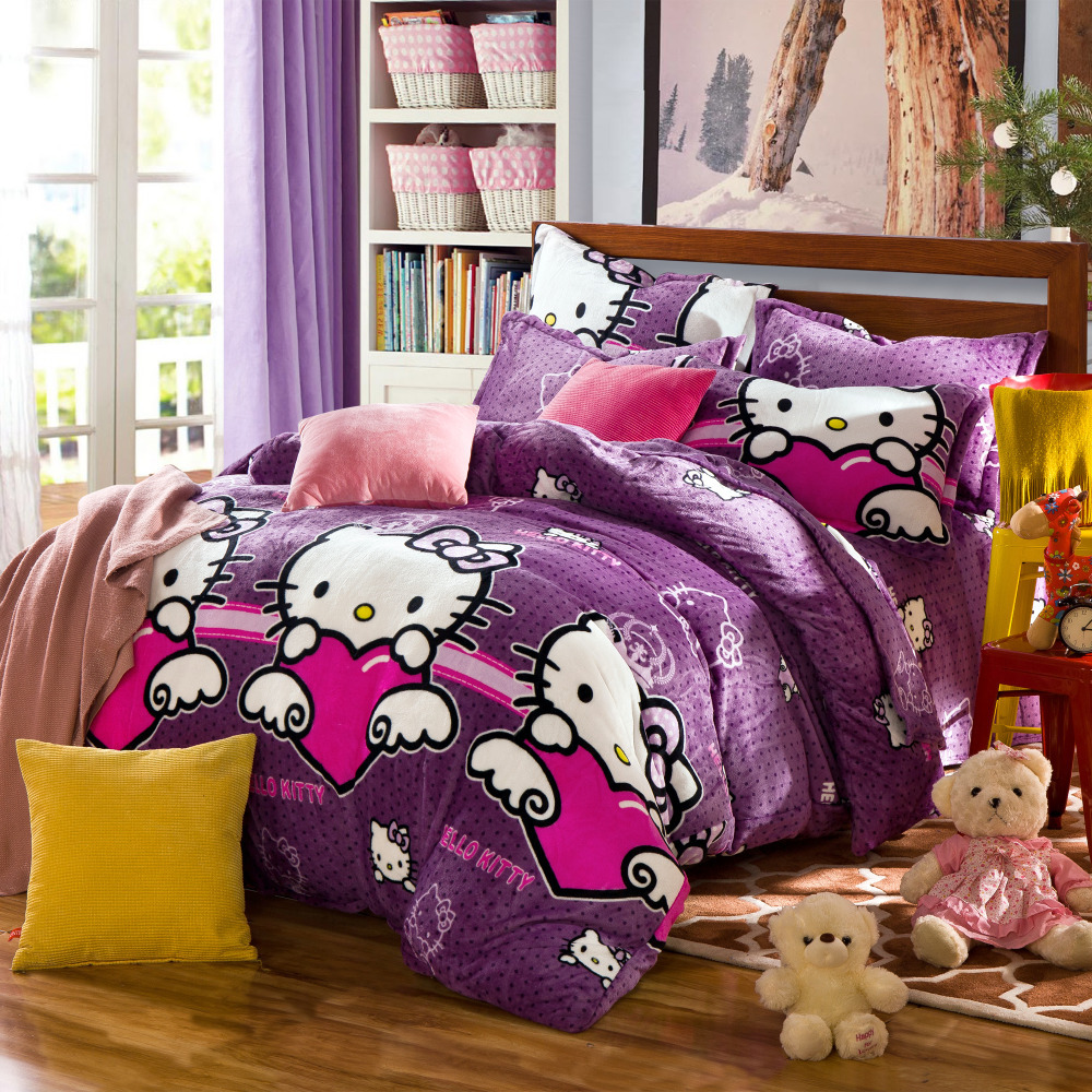 Housse De Couette Comforters And Quilts Hello Kitty