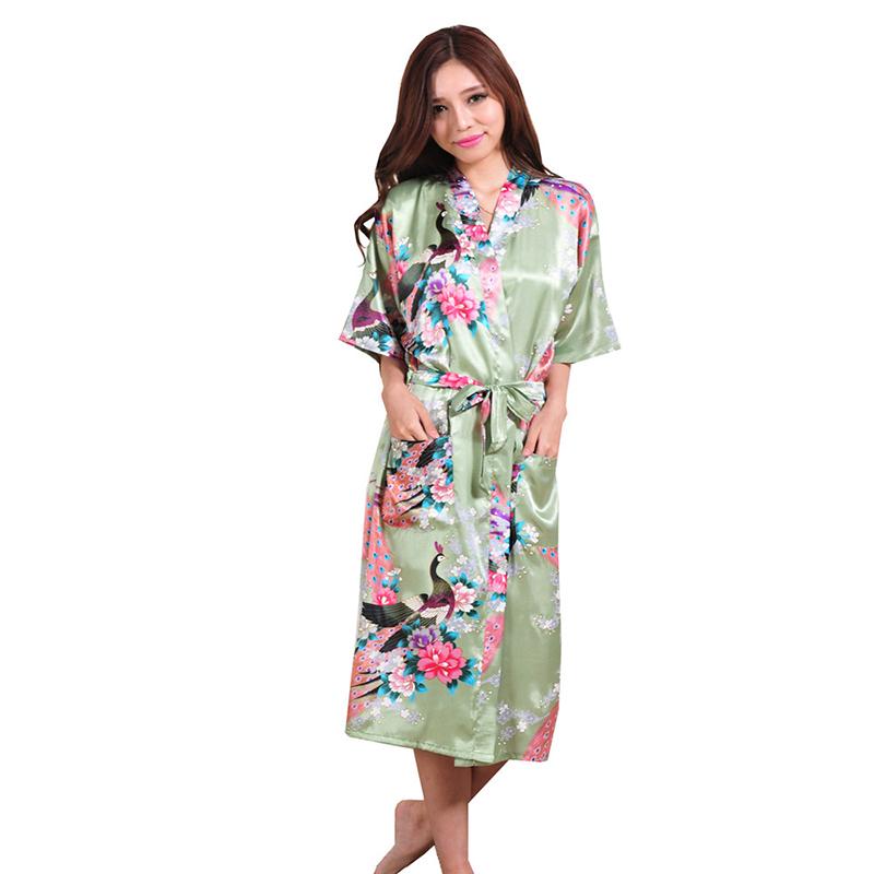 buy silk women robe sexy robes bridesmaids nightgown sleepwear nightdress at buyincoins. Black Bedroom Furniture Sets. Home Design Ideas