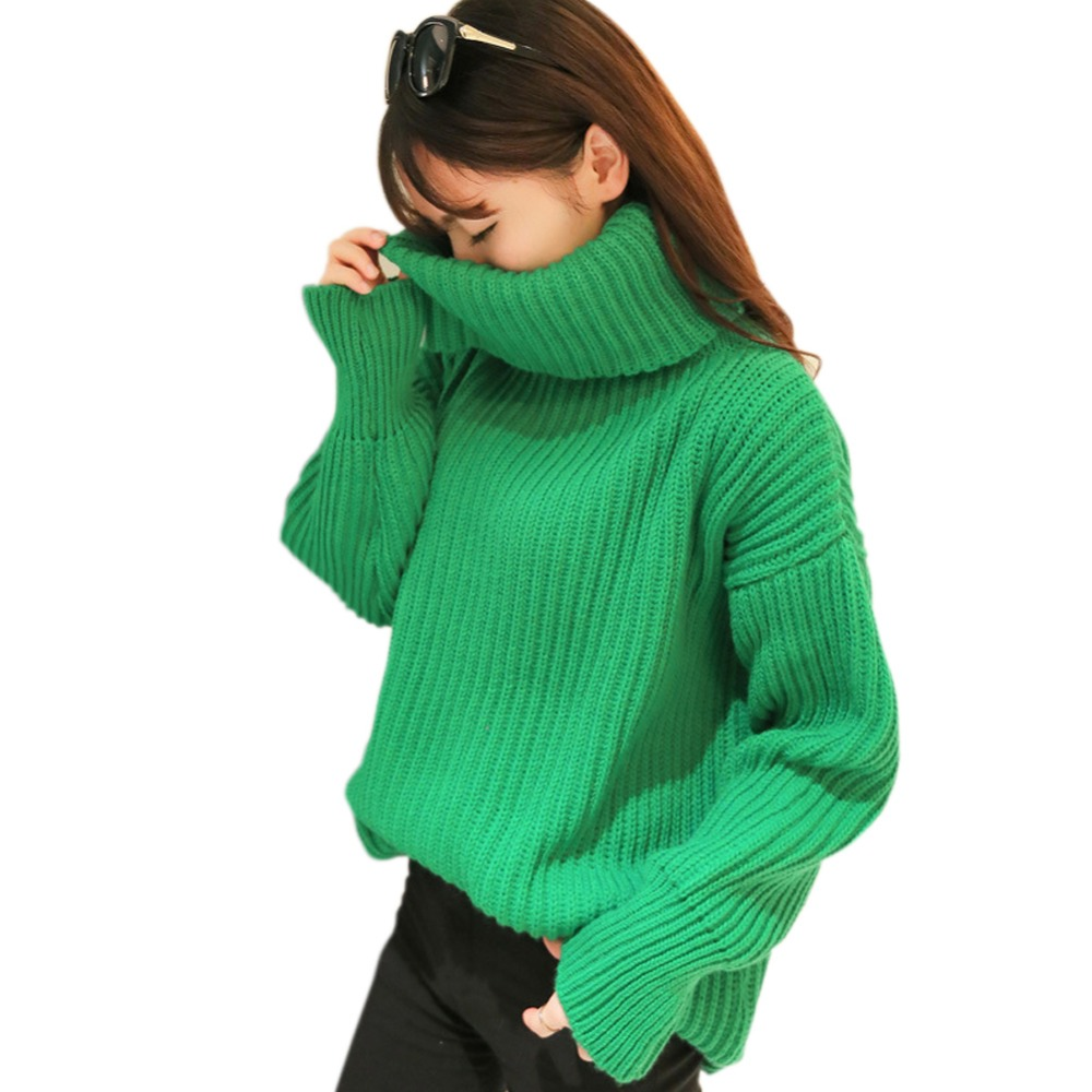 2015 Women Sweaters Winter Turtleneck Warm Sweaters