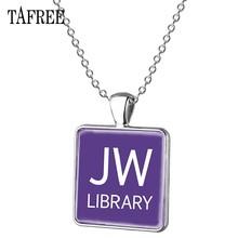 TAFREE JW. ORG длинное ожерелье с подвеской в форме квадрата, вечерние Подвески ручной работы, подарок для мужчин и женщин, ювелирные изделия, аксе...(Китай)