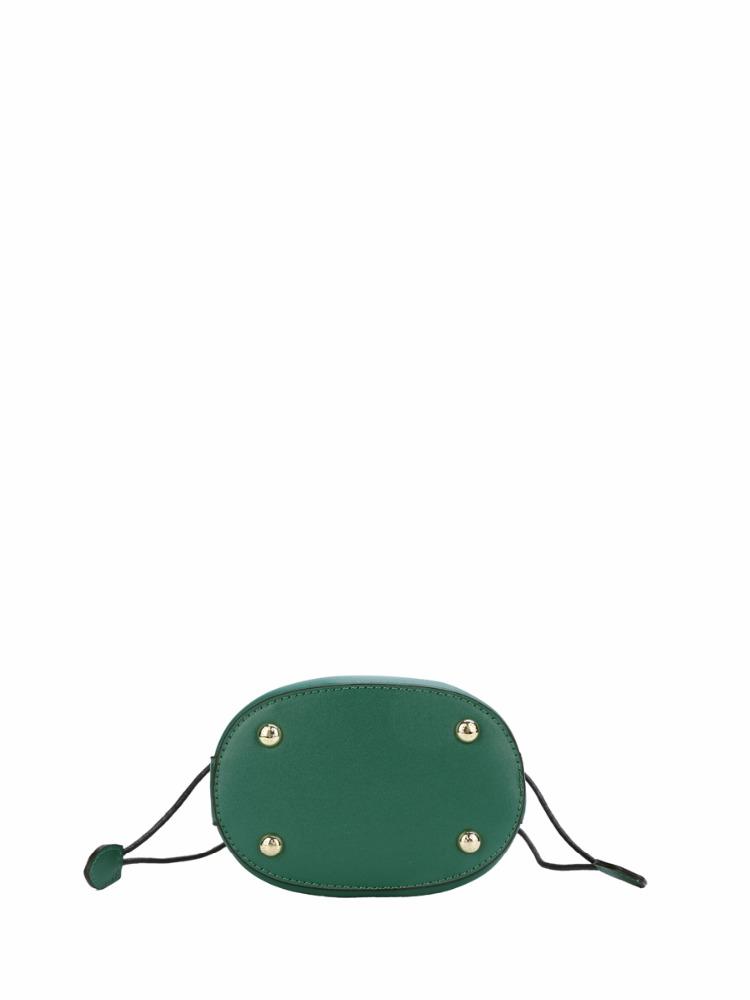 Сумочки SUSEN в богемном стиле, металлическая женская сумка-мессенджер через плечо, сумка-ведро