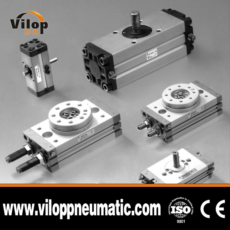 VILOP Compact Rotary Actuator CRQ2/CDRQ2 SMC Standard, Bore size: 10, 15, 20, 30, 40 and Rotating angle 90 180 360 degree