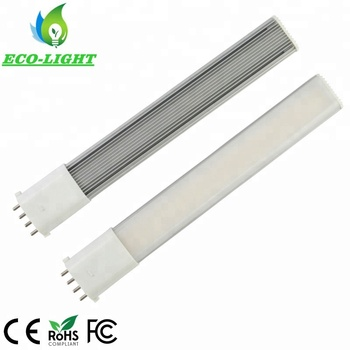 Equivalent for 26W 2G7 Fluorescent Downlight bulb 4-pin 100LM/W 10W 2g7 PL LED globe bulb