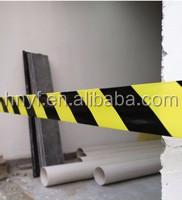 Ярко-красная и белая полоса предупреждающая сигнальная Барьерная лента 7 см x 200 м неклейкая