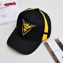 Pokemon va sombrero del casquillo equipo Valor equipo Mystic equipo  instinto Pokemon Cap Go equipo negro gorra de béisbol hombre. 3f5e9efeb15