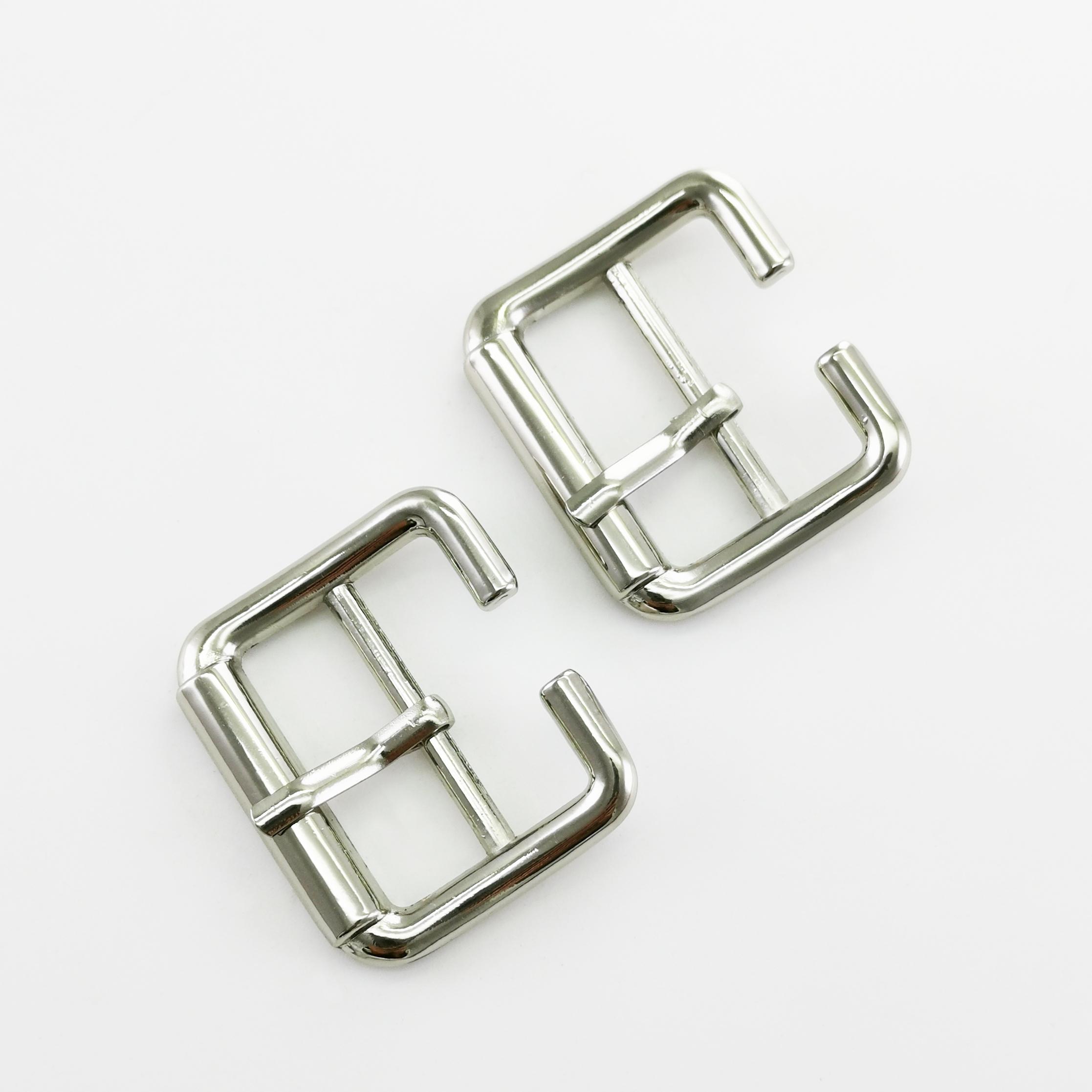 men metal  buckle shoe hardware