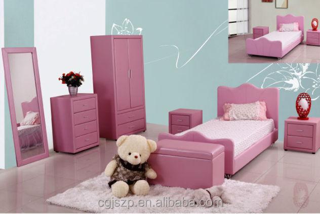 Modern Pink Children Bedroom Set Buy Bedroom Furniture Sets Kids Bedroom Set Girls Bedroom Sets Product On Alibaba Com