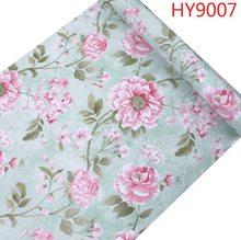 Пионы цветы самоклеющиеся виниловые декоративные обои наклейки на стену для дома настенное украшение для комнаты 0,45 М * 10 м(Китай)