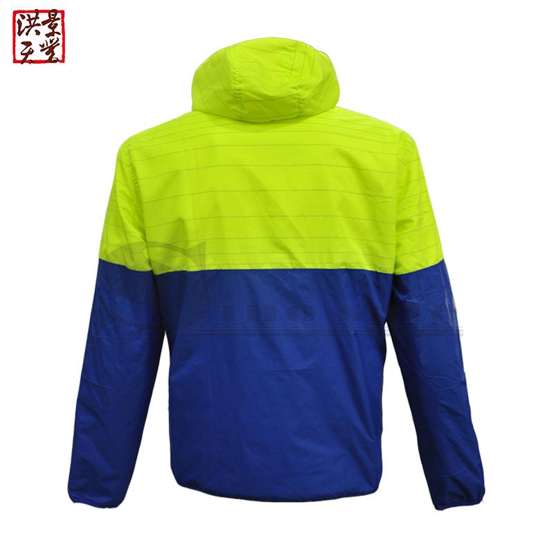 Amazon Hot Sales Light Reflective Safety Jacket with Hood