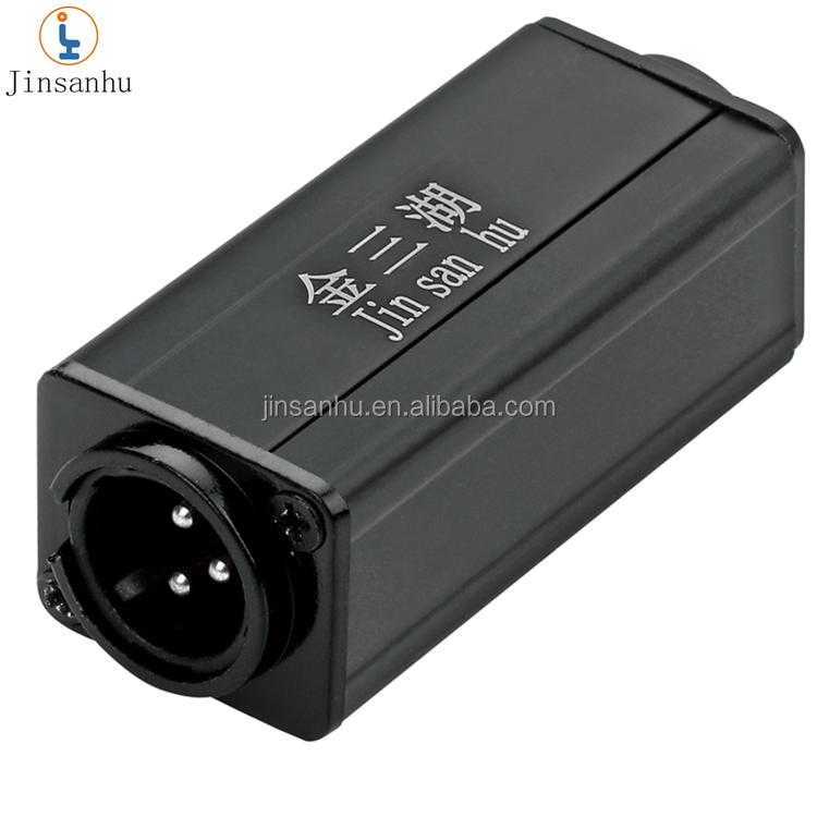 ROHS CE jinsanhu высококачественный адаптер xlr от мужчины к женскому динамику оптом