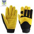 OZERO Sports Deerskin Motorcycle Racing Gloves Warm Waterproof Anti Cold Anti Slip Snowboard Cycling Hiking Gloves