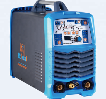 Rolwal Portable Electrical Inverter Argon Tig ac/dc Aluminum Welding Machine 250 amp 315 amp TIG Welder