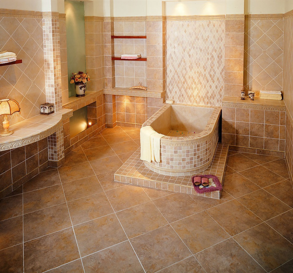 Cheapest Bathroom Tiles: Wholesale Mable Look Interior Floor Tiles Cheap Price